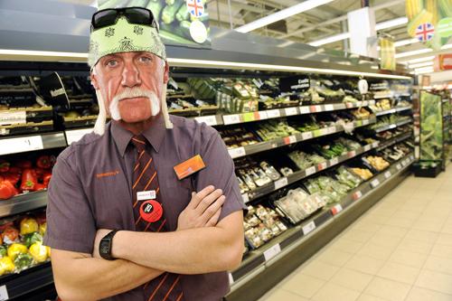 Hulk Hogan: Sainsbury's sandwich manager