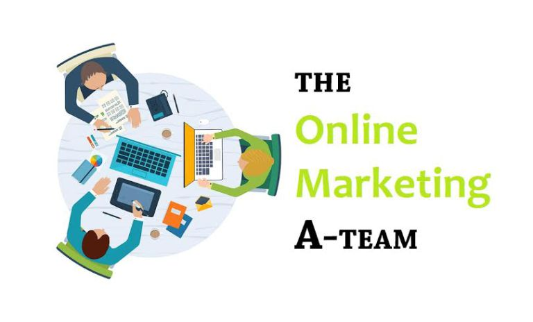 The 4 key people for your online marketing team