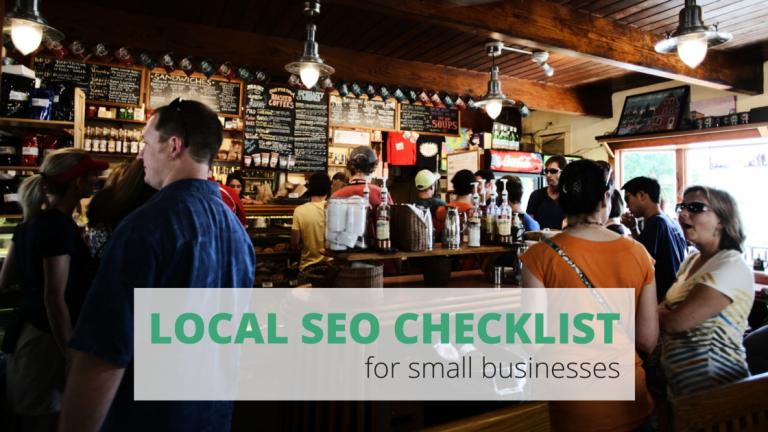Local SEO checklist for small businesses