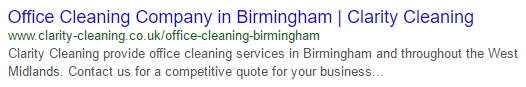 local SEO SERP results
