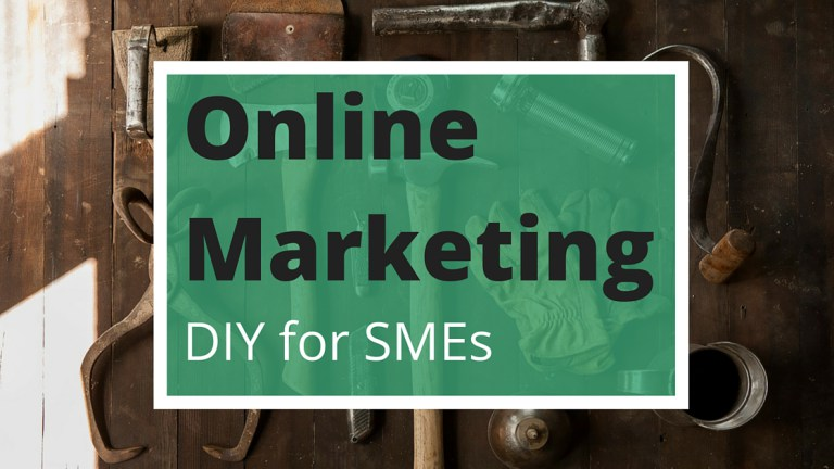 Online marketing DIY list for SMEs