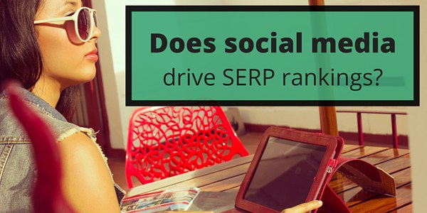 Does social media help your business' search engine rankings?