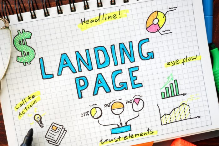 How to create a successful landing page to draw in prospects