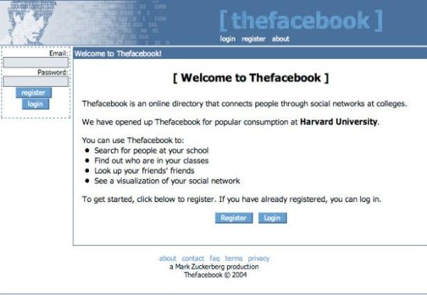 Facebook-design-at-launch