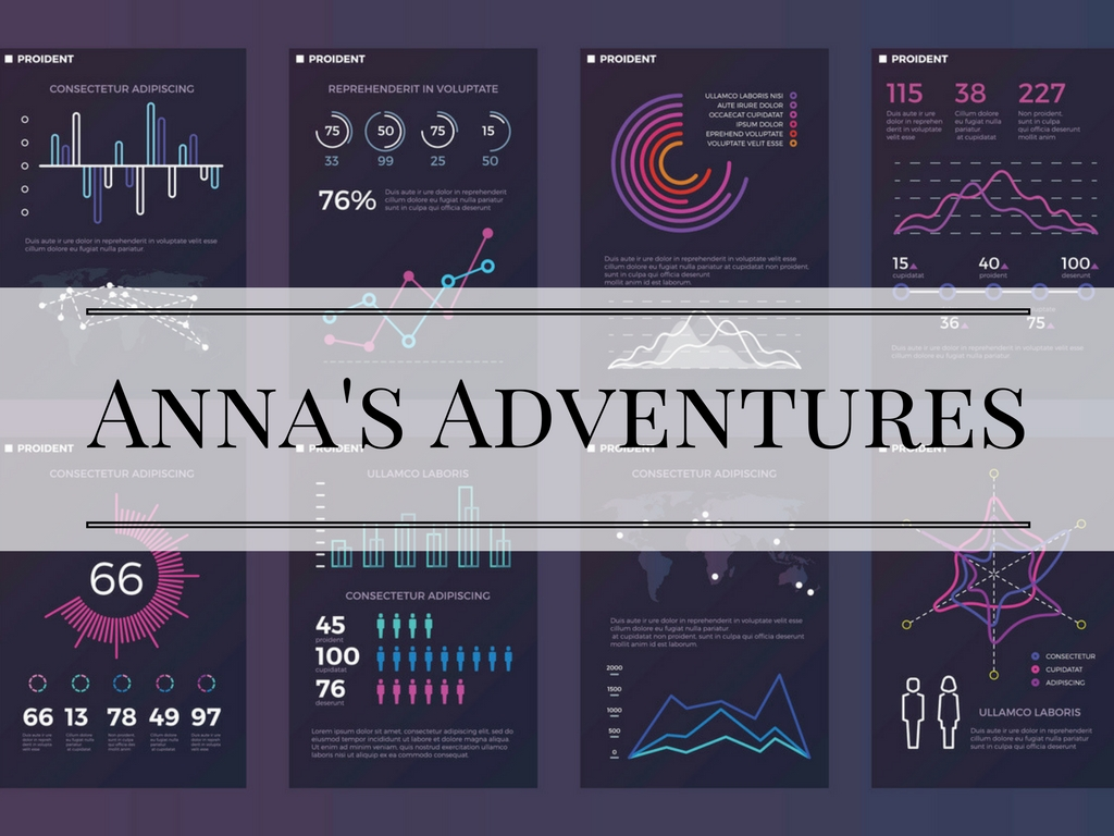 Infographic Anna's Adventures- Intern's diary