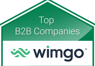 Wimgo Top B2B Companies 2020 Badge