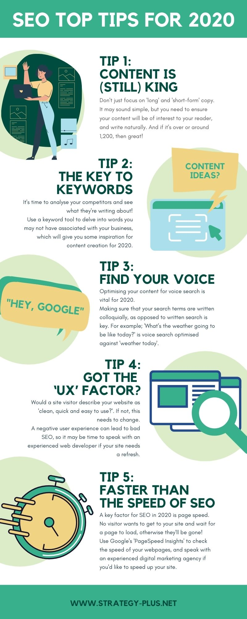 SEO Top Tips For 2020